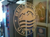 Image of Bellingham United window decal