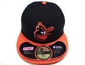 "Image of BALTIMORE ORIOLES ""RETRO ON FIELD"" NEW ERA FITTED"