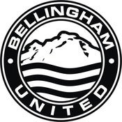 "Image of Bellingham United 4"" sticker"