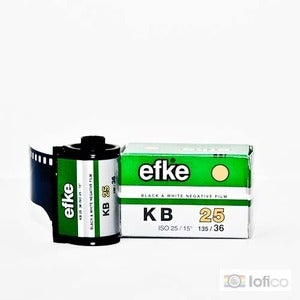 Image of efke kb 25 - B&W 35mm Film