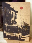 Image of Heart on a Muni Bus