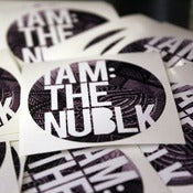 Image of thenublack 2.0 stickers