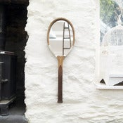 Image of Vintage Tennis Racket Mirror