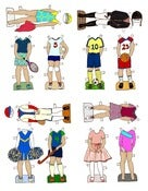 Image of Girls in Sports Line PRINT IT YOURSELF