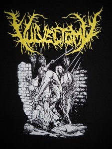 Image of VULVECTOMY 2011 US UNCLE SLAM TOUR T SHIRT