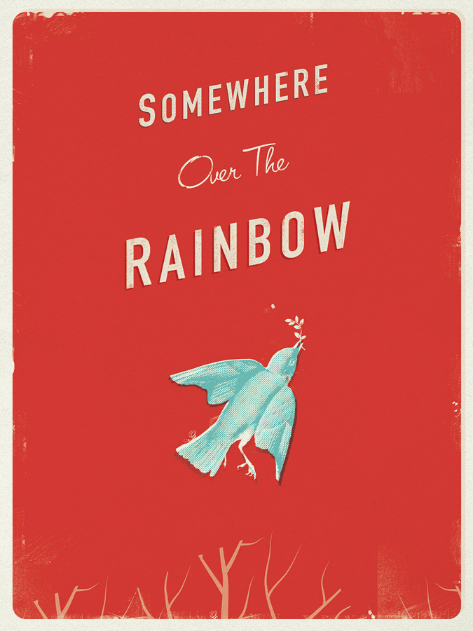 LYNN ULLMAN / SOMEWHERE OVER THE RAINBOW