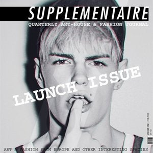 Image of Supplementaire Art &amp; Fashion Journal - Issue 1 Launch Issue Download