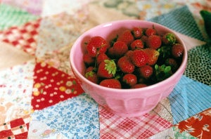 Image of strawberries 8x12&quot; print