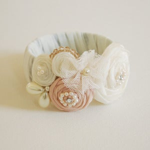 Image of White Snow Bangle