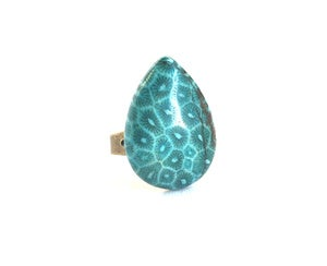 Image of Teal Stone Ring