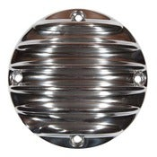Image of Derby Cover Polished-4 Hole-Sportster