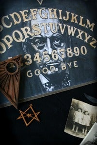 Image of ALEISTER CROWLEY OUIJA BOARD