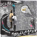"Image of Monikers/Delay Split 7"" RARE Colours!!!"