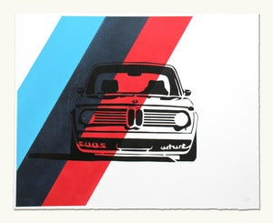 Image of BMW 2002 Turbo Headshot - M Colors