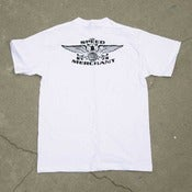 Image of Speed Eagle T-Shirt -White