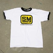 Image of Speed Merchant Logo Ringer T-Shirt
