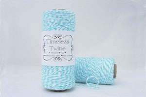 Image of Aqua Blue TIMELESS TWINE™