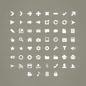 Image of 60 Vector Shapes: Default set