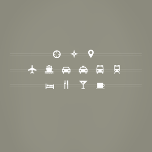 Image of 13 Vector Shapes: Travel & Location Add-on