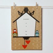 Image of Folk Art Invitations