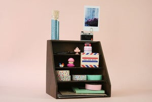 Image of Japanese letterbox/organizer