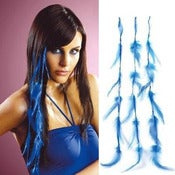 Image of SALE! 18&quot; Clip in Feather Hair Extensions (3-pack)