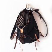 Image of Special Edition Rucksack in black by Friederike Porscha