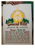 Image of SoundFest 2011 Screen Printed Poster