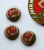Image of Blitz Dames Pin Badges (x3)