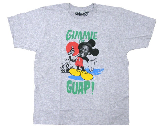 Image of GIMME THE GUAP HEATHER GREY