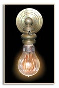 Image of F1920-4 Quad Loop 60 Watt Reproduction Vintage Style Light Bulb