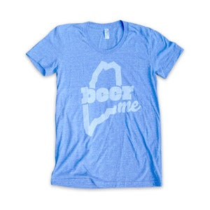 Image of BeerME T-Shirt (Womens - Athletic Blue)