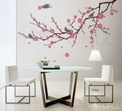 Image of Cherry Blossom decal sticker Tree Branch 3 color ( LARGE) - 073