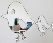 Image of Shatterproof Bird Family Mirrors