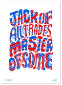 Image of JACK OF ALL TRADES RISO PRINT
