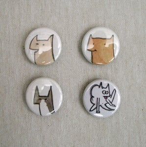Image of Button badge pack
