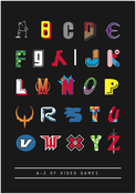 Image of A-Z Of Video Games Poster