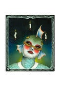 Image of This is My Fish Face Mini Giclee