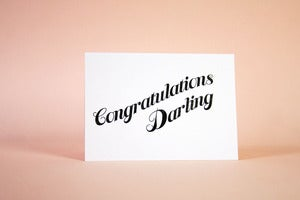 Image of Congratulations Darling