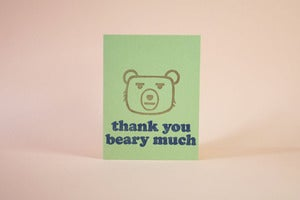 Image of Thank You Beary Much
