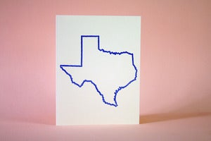 Image of Texas: The Lone Star State Note Card or post card