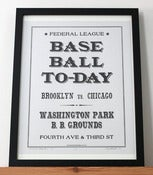 Image of Afternoon Base Ball