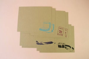 Image of Jet Setter Stationery Set
