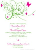 Image of Butterfly Invitation
