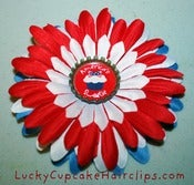 Image of Patriotic Cupcake Flowers