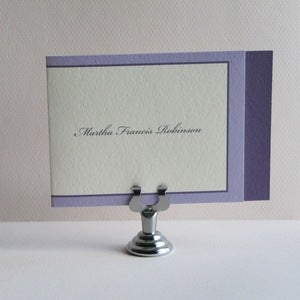Image of Personal Folded Notes - Purple and Lavender