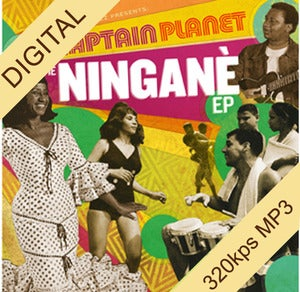 Image of Captain Planet - The Ningane EP digi-12""
