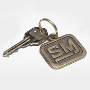 Image of Speed Merchant Bronze Keychain
