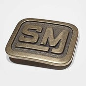 Image of Speed Merchant Bronze Belt Buckle