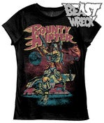 "Image of ""BOUNTY HUNTER"" (black) Women's T-shirt"